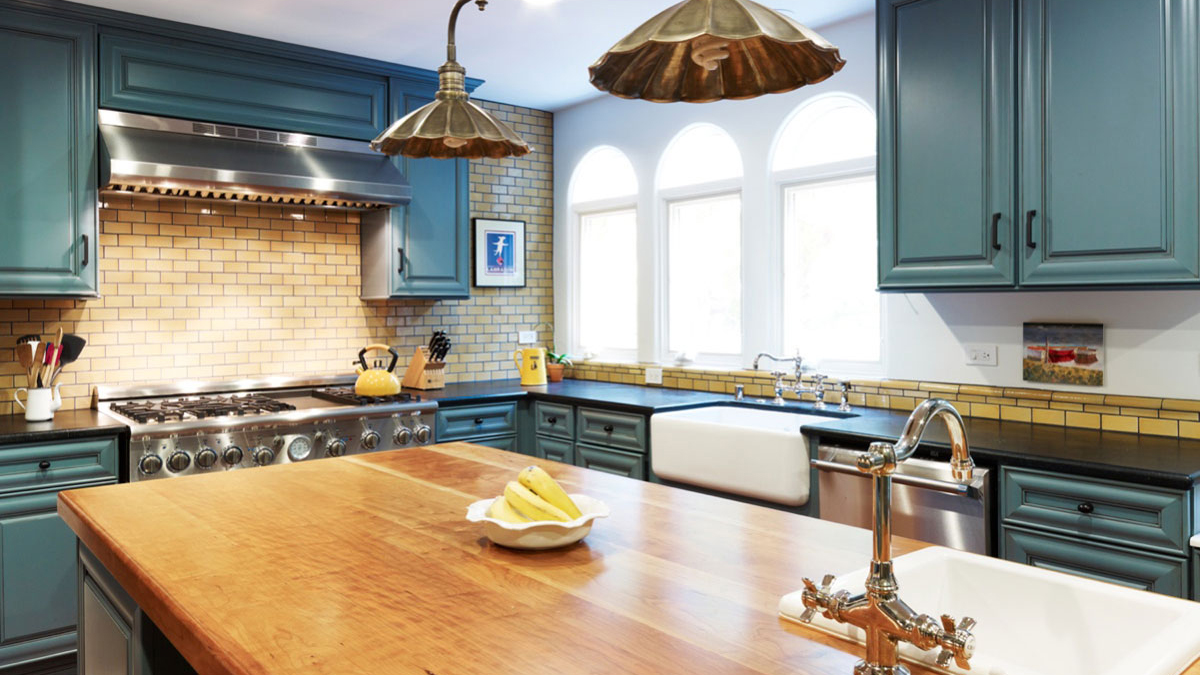 Mission Tile West Kitchen Bath
